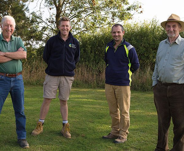 Grass helps keep farm green – all year round