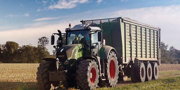 Hybrid tyre ready for busy silage season