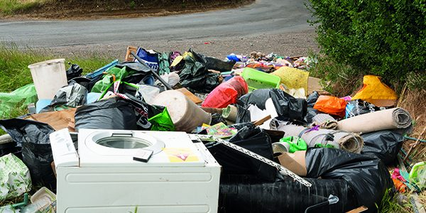 One million incidents of illegal rubbish dumped in countryside
