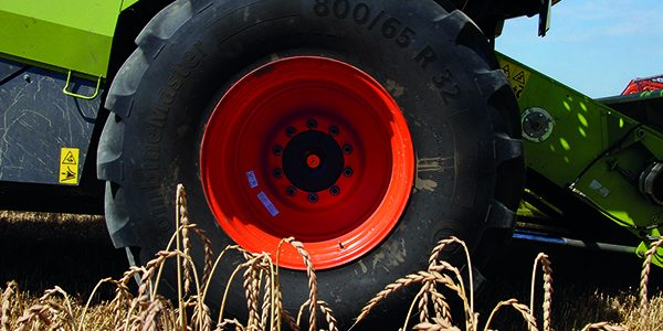Ensure tyres are in good order before harvest