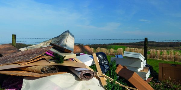 Fly-tipping: Farmers bear brunt of epidemic